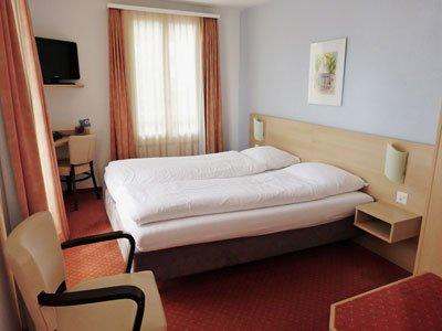 Ideal zu Zweit im Hotel Rigi Vitznau sind Doppelzimmer mit Bad